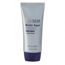 BB крем для лица BB Cream Wrinkle Repair 3W CLINIC, 50 мл.
