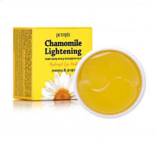 Набор патчей для век гидрогелевые ромашка PETITFEE   Chamomile Lightening Hydrogel Eye Mask, 60 шт.