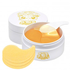 Патчи для глаз золото/гиалурон Elizavecca Milky Piggy Hell-Pore Gold Hyaluronic Acid eye patch, 60шт.