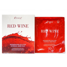 Гидрогелевая  маска для лица ESTHETIC HOUSE Red Wine Regenerating Solution Hydrogel Mask Pack, 30гр.