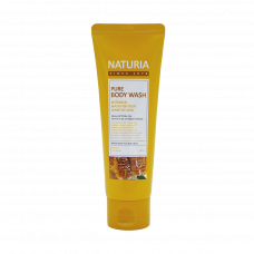 Гель для душа мед/лилия NATURIA  Pure Body Wash (Honey & White Lily), 100 мл.