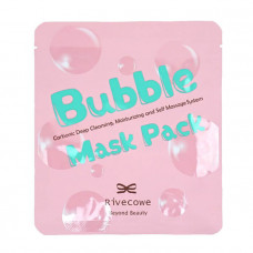Маска для лица RIVECOWE Beyond Beauty Bubble Mask Pack, 60 гр.